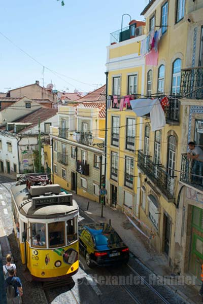 The capital of Portual: Lisbon